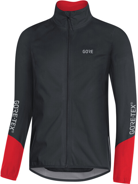 GORE WEAR C5 Gore-Tex Active Sykkeljakke Herre rød/Svart